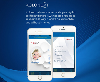 RoloNext, the best Networking App